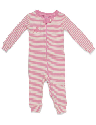 Girls Zip Footless Coverall