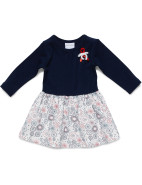 Girls Winter Flowers Dress $27.96