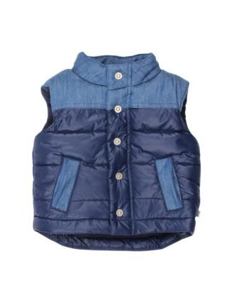 River Splice Puffer Vest