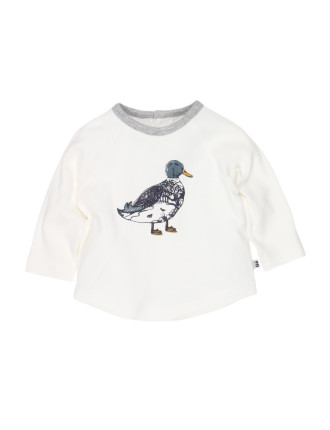 Mac L/S Duck Sketch Tee