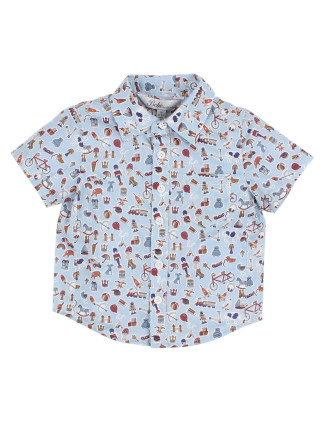 BOYS LIBERTY SHORT SLEEVE SHIRT (3M - 24M)