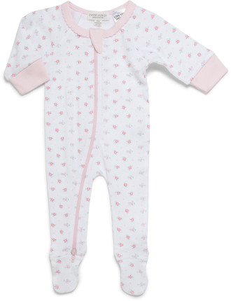 GIRLS GROWSUIT WITH FEET (0000 - 0)