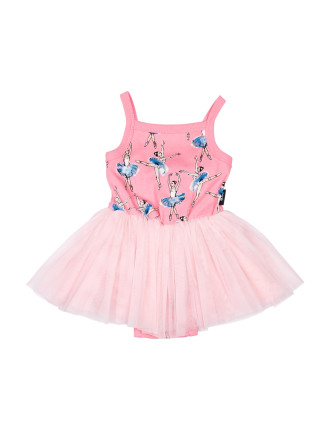 BASQUE LOU LOU DRESS (3M - 2Y)