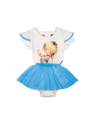 TINY DANCER SHORT SLEEVE CIRCUS DRESS (3M - 2Y)