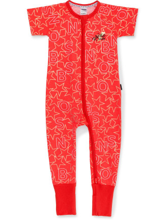 XMAS ZIP WONDERSUIT (NB - 24M)