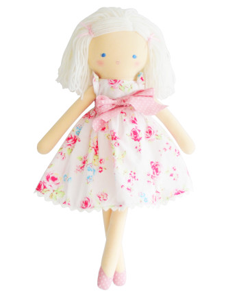 EVIE DOLL WHITE FLORAL