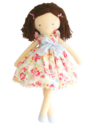 EVIE DOLL IVORY FLORAL
