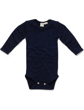 Boys Merino Long Sleeve Bodysuit