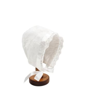 Lace Bonnet (XS-S)