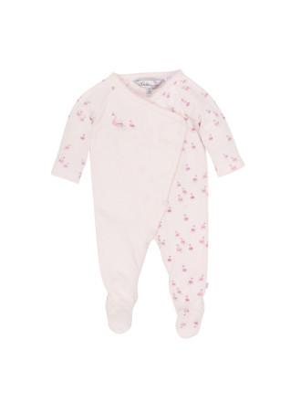 Annie Swans Wrap Romper (Newborn-9months)