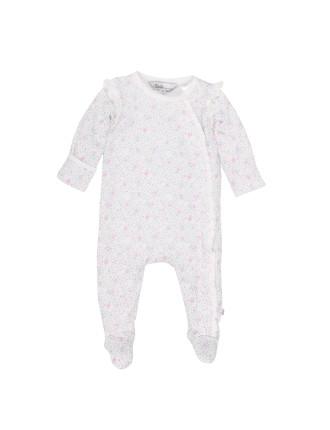 Annie Long Sleeve Romper (Newborn-9months)