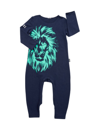 Boys Lion Coverall (3months-2years)