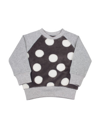Big Dot Fleece Sweater (9months-2years)