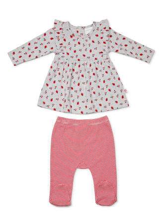 Cherry Pie Swing Top with Legging (Newborn-1year)