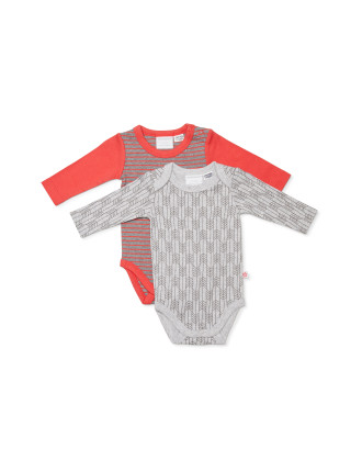 Out of Africa 2pk Bodysuit (Newborn-1year)