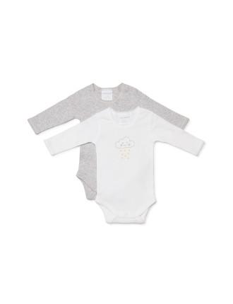Essentials 2pk Bodyspencer (Newborn-1year)