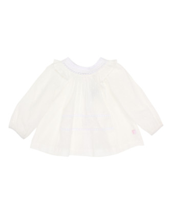 Tessa Long Sleeve Yoke Blouse (3-24months)