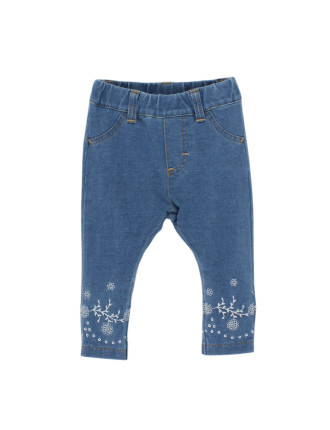 Tessa Embroidered Jegging (3-24months)
