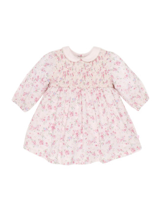 Tessa Long Sleeve Woven Dress (3-24months)
