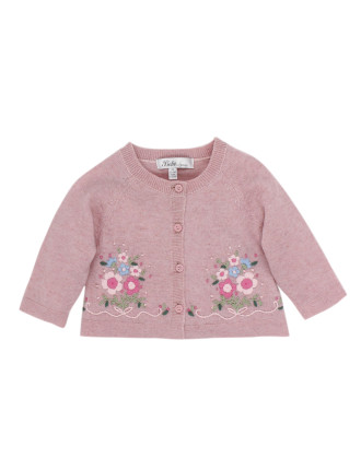 Tessa Embroidered Cardigan (3-24months)