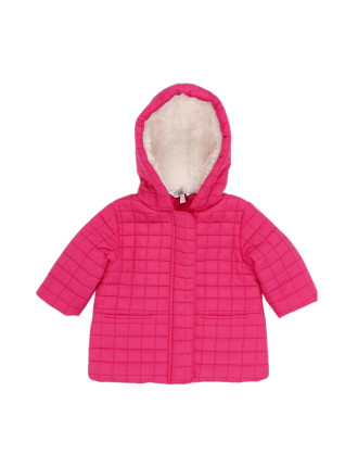 Eloise Quilted Jacket with Hood (6-24months)