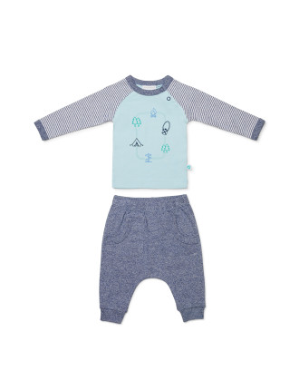 Top and Footless Pant (0000-1)