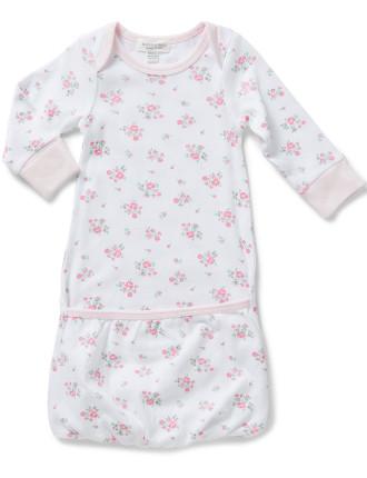 Rose Garden Sleepsuit (Newborn-3months)
