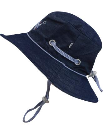 Boys Sun Hat (XS-M)