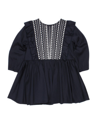 Brittany Embroidered Party Dress