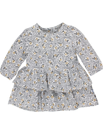 Claire Floral Print Jersey Dress (3-24months)