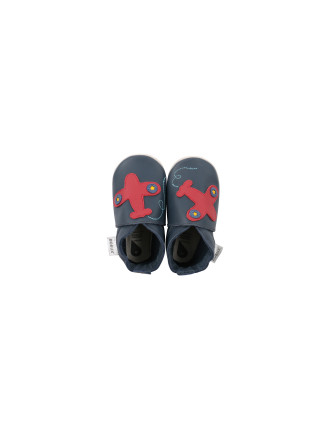 Boys Plane Soft Sole