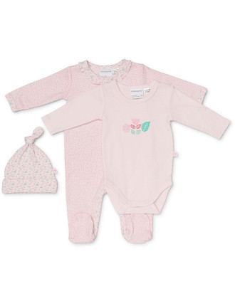 3pc Set- Studsuit, Bodysuit & Beanie