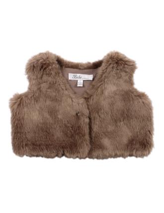 Sofie Faux Fur Vest