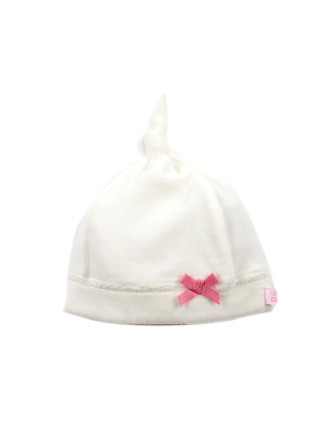 Lily Velour Knot Top Hat