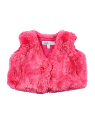 Isabel Fur Vest