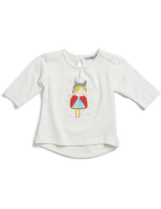 Long Sleeve Little Girl Tee