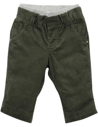 Finn Jersey Lined Cord Pant