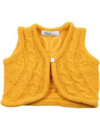 Heidi Girls Knitted Vest