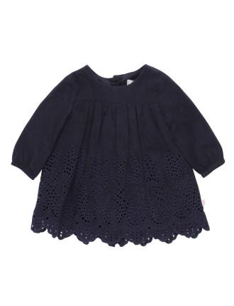 Bebe Elsie L/S Dress