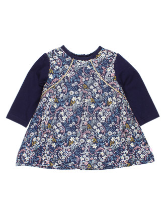 Bebe Elsie Mix Dress