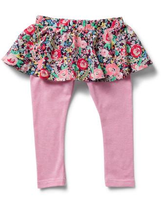 Girls Ariana Skirt W/ Legging