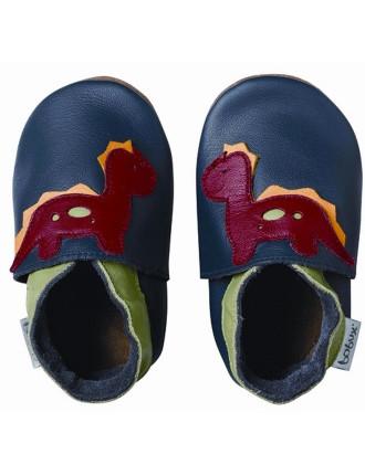 Boys Dinosaur Soft Sole Shoes