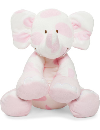 Pastel Floppy Elephant
