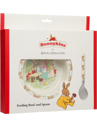 Running Design Feeding Bowl And Spoon