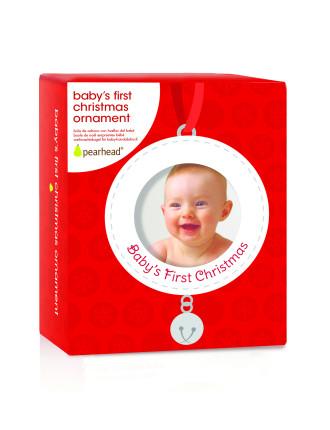 Babys 1st Ornament