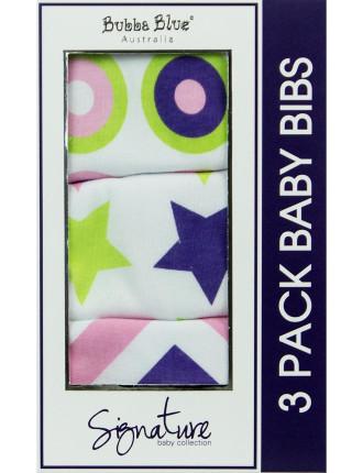 Signature 3 Piece Bib Gift Set