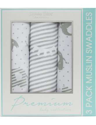 2 Ply Muslin Wraps (3 Pack)