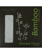 Bamboo Hooded Towel-White $23.96