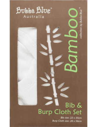 Bamboo Bib & Burp Pad