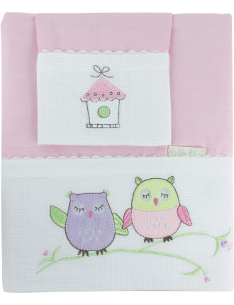 Baby Owl Sheet Set